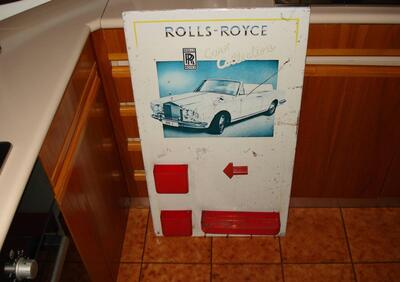 Rolls Royce INSEGNA ROLLS ROYCE Anni 70 ORIGINALE  epoca
