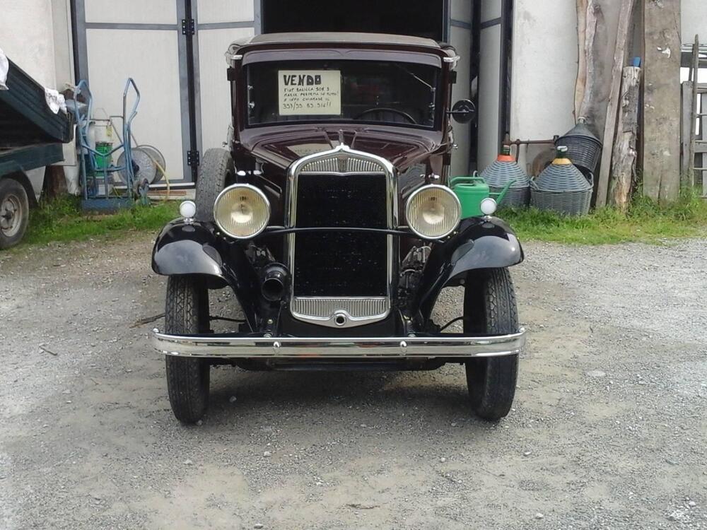 Fiat Balilla 508 3 marce